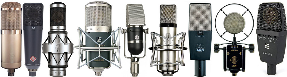 vocal coach microphoes available at studio of Karen Linker